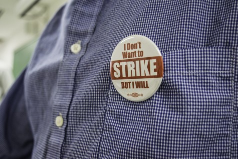 Faculty voting on strike-authorization