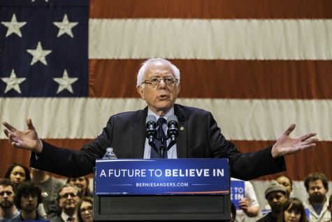 Akron feels 'the Bern'