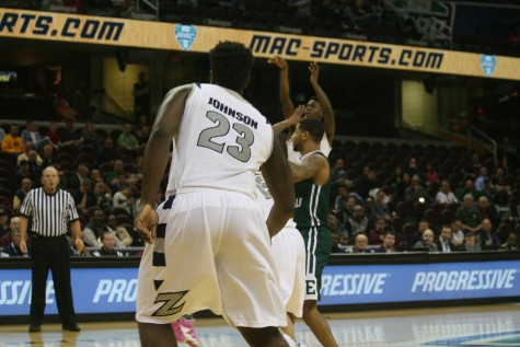 Zips men's basketball bounces Bowling Green from MAC Tourney