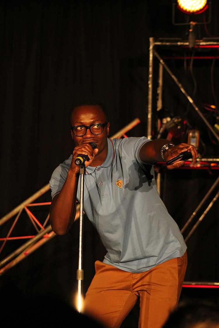 Comedian Kenneth