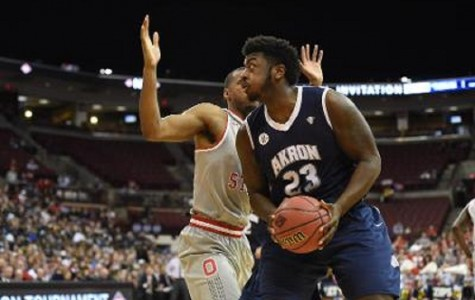 Akron Men's Basketball Knocked Out of NIT by Ohio State's Overtime Run
