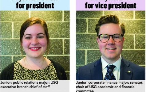 Megan Bodenschatz for president, Sterling Galehouse for vice president
