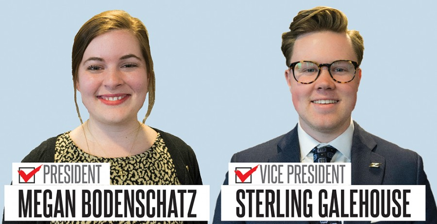 Bodenschatz, Galehouse win USG presidential election