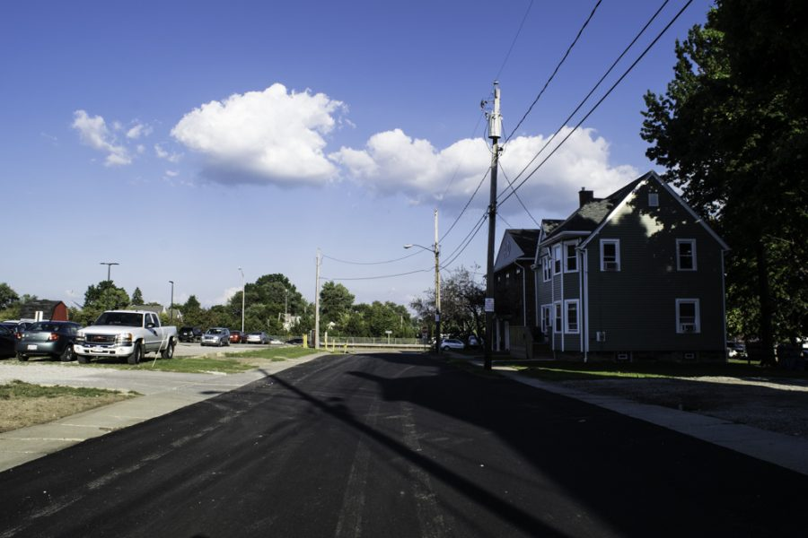 Orchard Street was repaved.