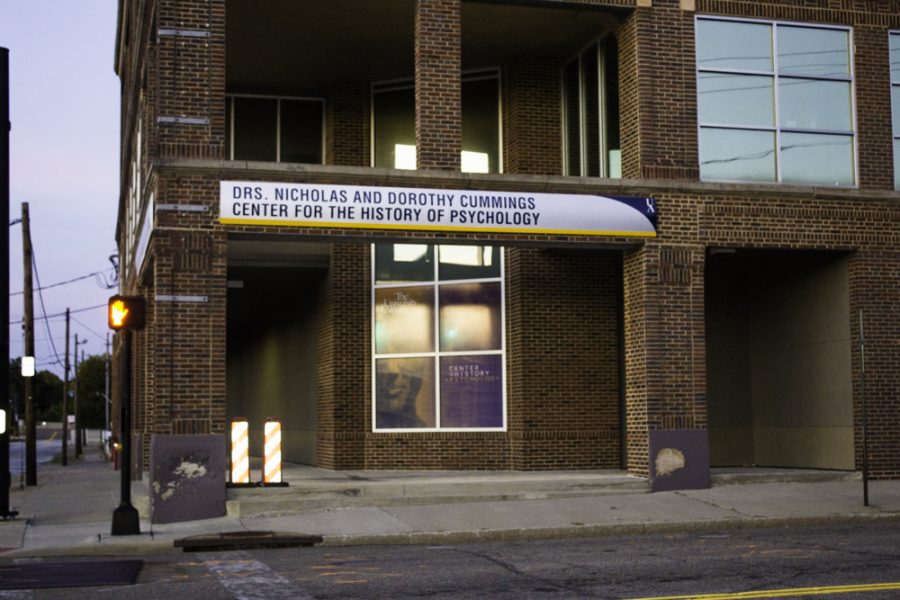 The Cummins Center for the History of Psychology is on S. College St.