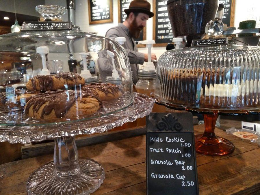 There are a variety of pastry options at Artisan Coffee Shop