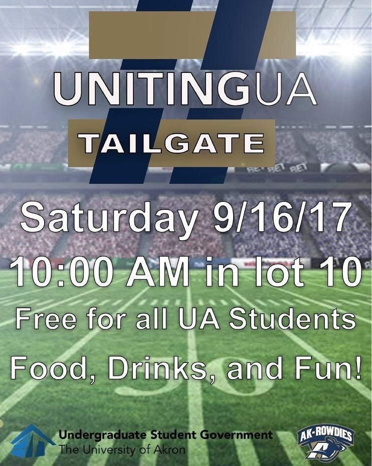 Uniting UA Tailgate Party.