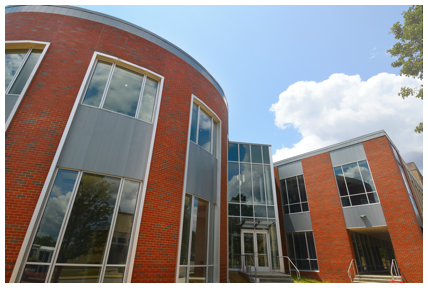 The C. Blake McDowell Law Center. (Photo courtesy of The University of Akron)