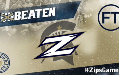 Zips Hand Top-Ranked Michigan State First Loss of Season