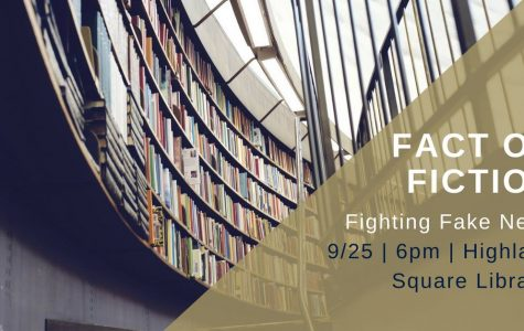 Fact or Fiction? Fighting Fake News Panel at Highland Square Library