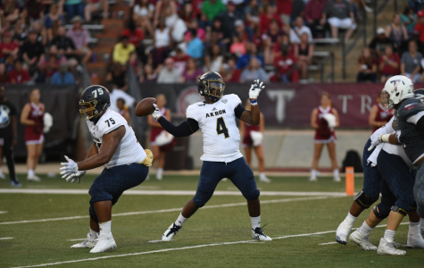 Zips Fall Late in Tight Battle Against Troy