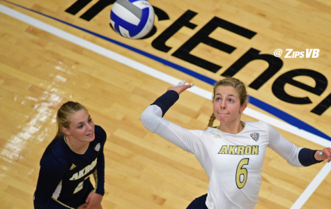 Zips Volleyball Opens MAC Play Against Kent State, Ohio