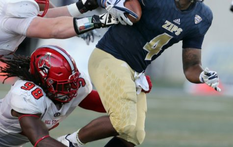 Zips Dominate Ball State in Homecoming Victory