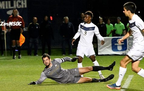 Clean Sheet for Akron Against No. 12 Fighting Irish