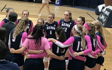 Zips Volley Battle Hard, But Return Home Without a Win