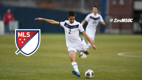 Akron Zips Defender #2 Joao Moutinho was the first-overall selection in the 2018 MLS SuperDraft by Los Angeles FC. (Photo courtesy of Akron Athletics)
