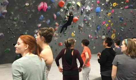 Rock Mill Hosts Ladies' Night to Invite Women to Climbing Community