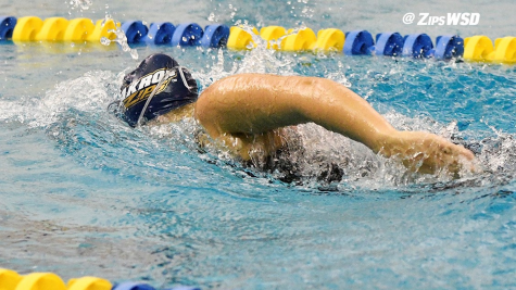 Women's Swimming and Diving Wins Fifth Championship