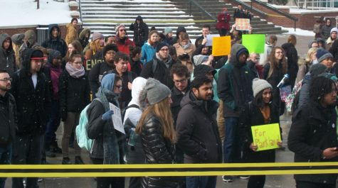 UA Students Protest for Change During Walkout