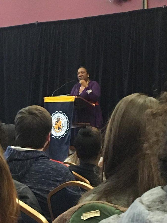 Tarana+Burke+beginning+her+lecture.