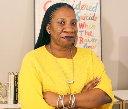 Tarana Burke is one of the people cited by Time magazine as part of the Silence Breakers. (Photo courtesy of The University of Akron)