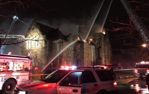 Late Night Fire Damages Former UA Ballet Center
