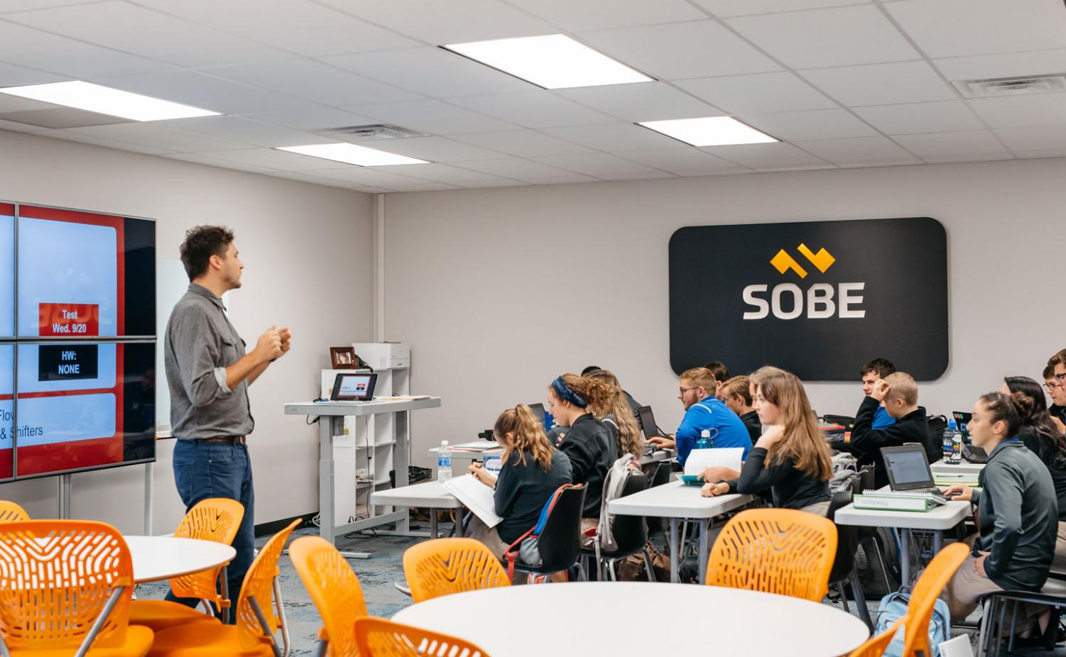 Students from the School of  Business and Entrepreneurship. (Photo courtesy SOBE)