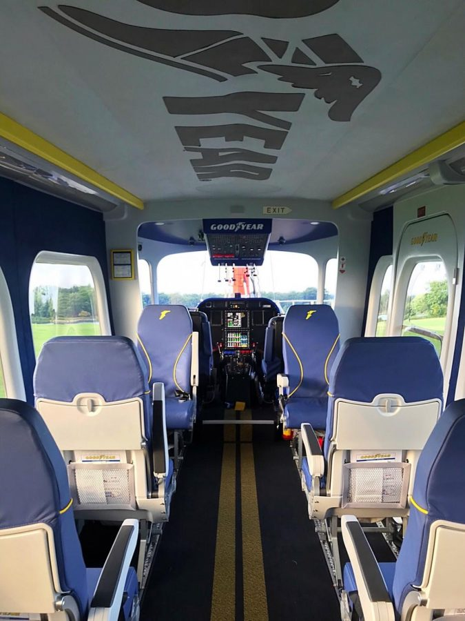 Goodyear Welcomes Wingfoot Three Celebrates History The