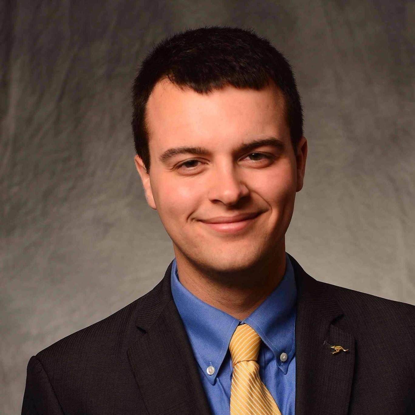 Taylor Bennington, President of the UA student body and Undergraduate Student Government. (Photo courtesy of The University of Akron)