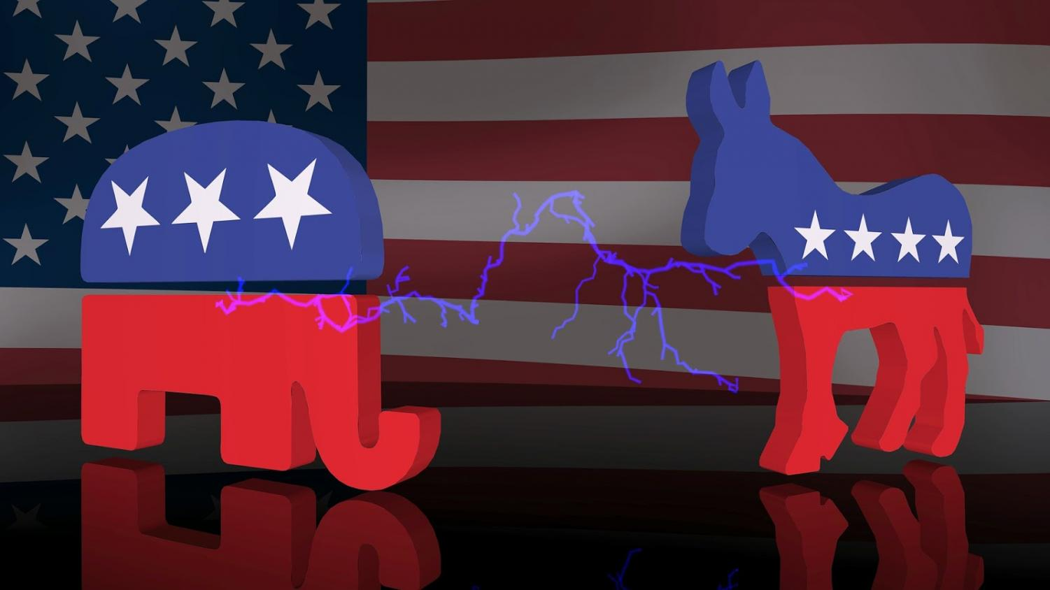 Republicans and Democrats will face off again during this midterm election, everyone is encouraged to vote. (Photo courtesy of Pixabay)