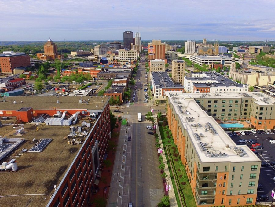 South+Main+Street+in+Downtown+Akron.