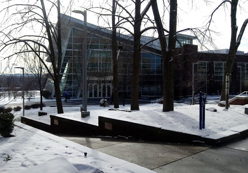 With the cold and the snow, activity at the Student Union on Friday, Feb. 2 was low.