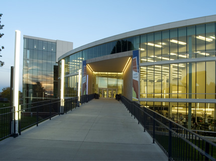 Student Recreation and Wellness Center.