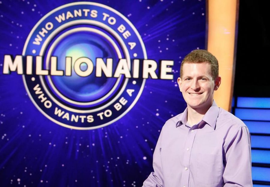 Derek+Daily+on+the+set+of+%22Who+Wants+to+Be+a+Millionaire.%22