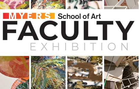 Faculty and staff members began submitting their creations as early as one year ago to be featured in the exhibition.