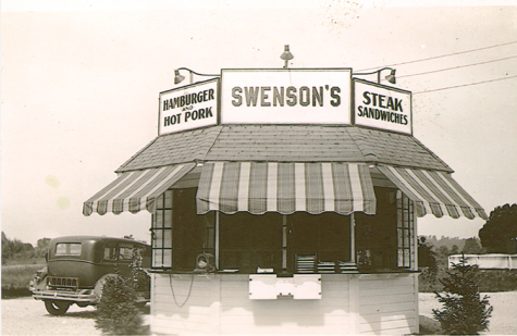 Swensons' original location on South Hawkins opened in 1934