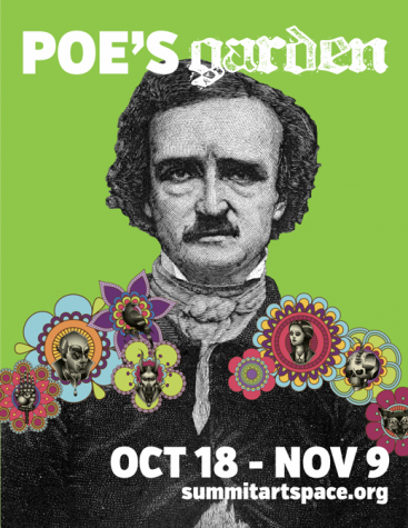 Throughout the Halloween season, Summit Artspace will be hosting an exhibit exploring the Gothic and grotesque in honor of Edgar Allan Poe.