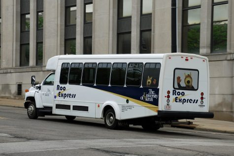 The Roo Express used to be comprised of three routes that have been combined to create the Campus Circulator route.