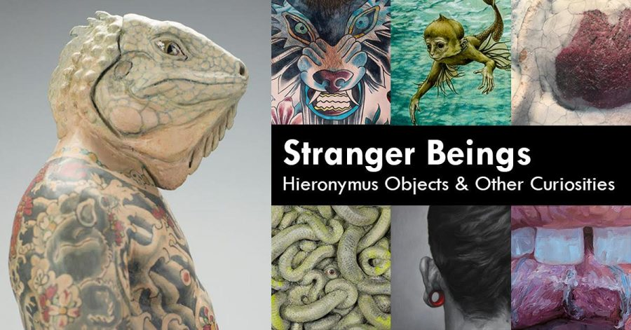 """Stranger Beings"" will run through Nov. 22. In the Emily Davis Gallery, located in Folk Hall."