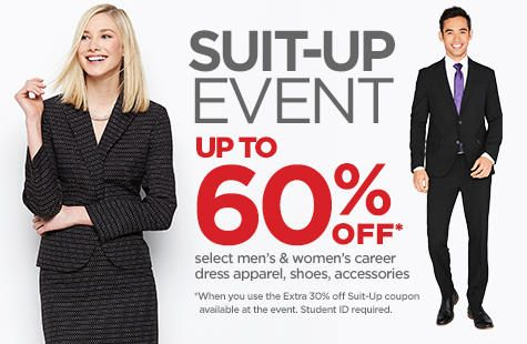 "Several Universities Team Up with JCPenney For 2019 ""Suit-Up"" Event"