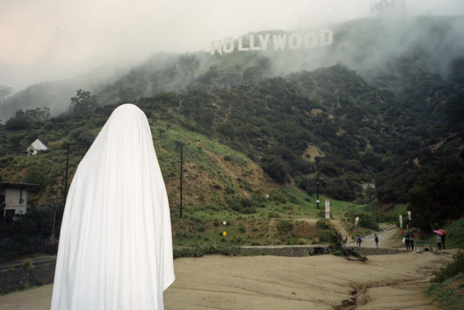 "One of Kristina Wolin's images titled ""Family trip to Hollywood"" that will be on display."