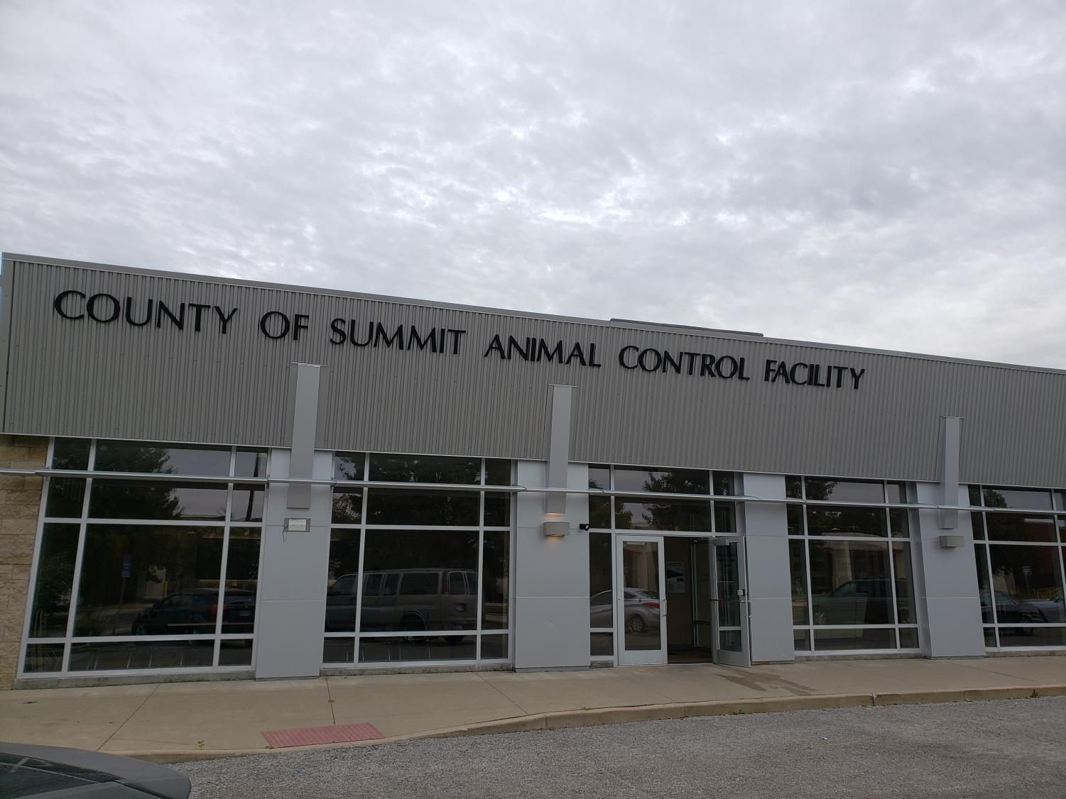 The Summit County Animal Control Facility is located at 250 Opportunity Parkway in Downtown Akron.