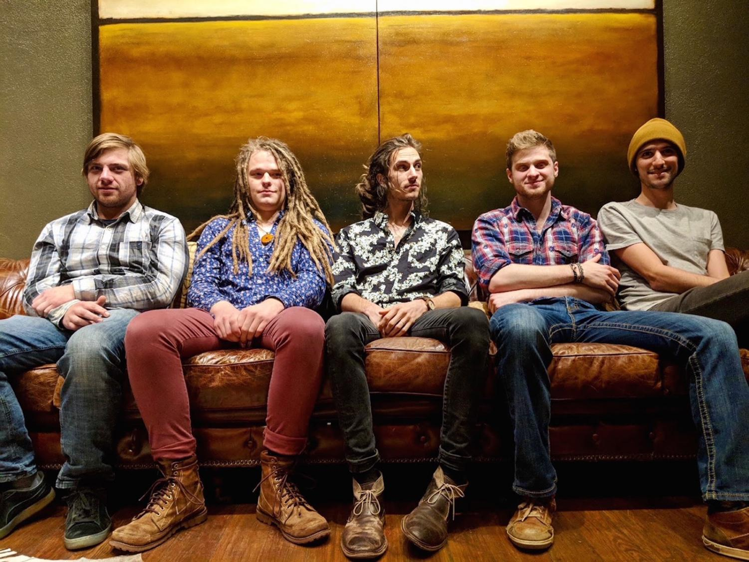 The band consists of songwriters Collin Krause and Austin Krause-Thompson, jazz percussionist John Merikoski, classical upright bassist John Williams and banjo player Travis Kowalsky.