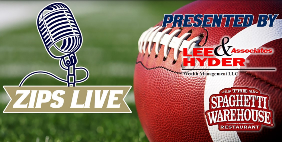 Zips LIVE Interview with Football Head Coach, Men's Golf Coach