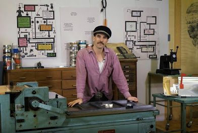 Swiss Graphic Designer, Letterpress Printer Dafi Kühne Lectures At UA