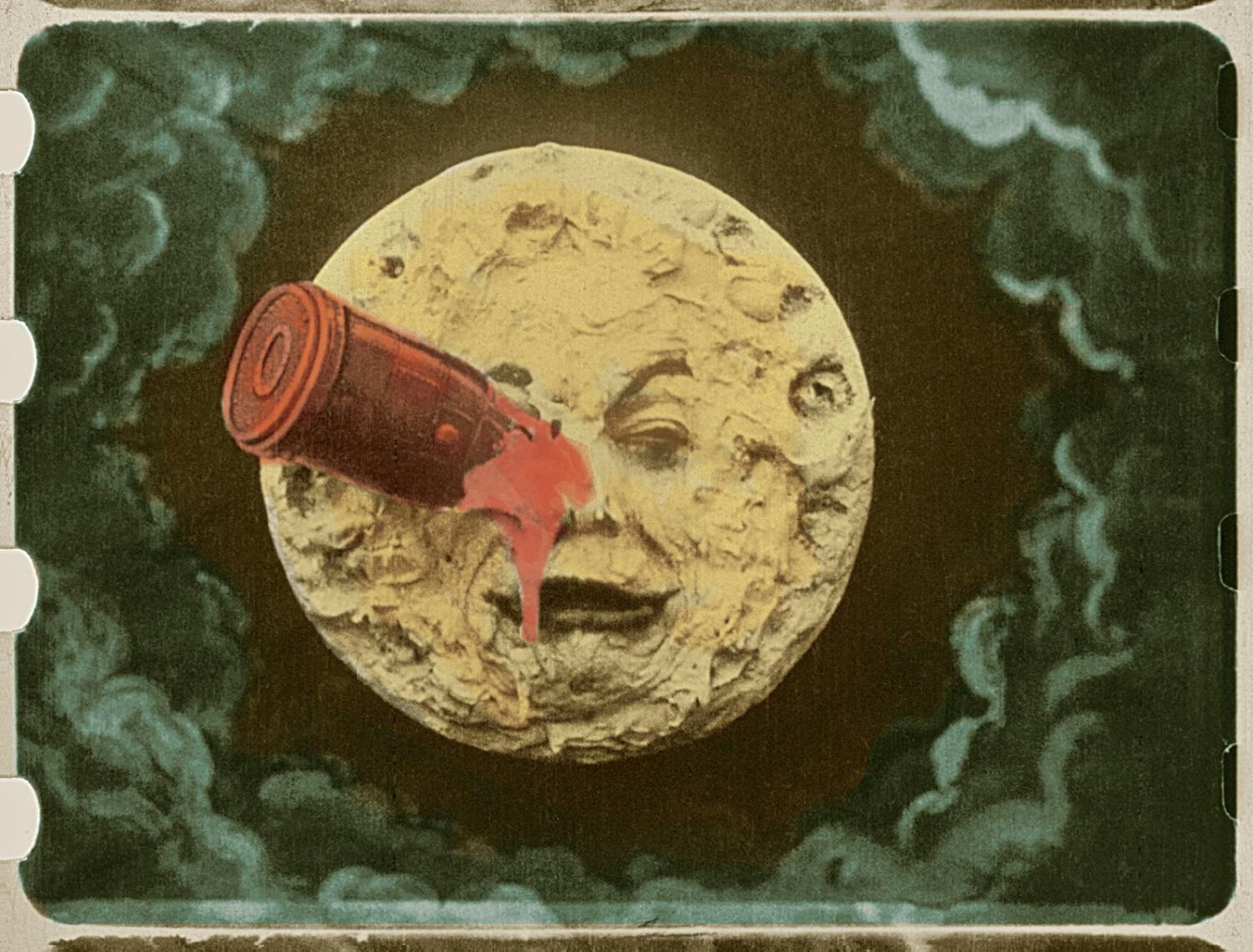 "Works such as Georges Méliès 1902 film ""Journey to the Moon"" will be displayed during ""The Distance of the Moon."""