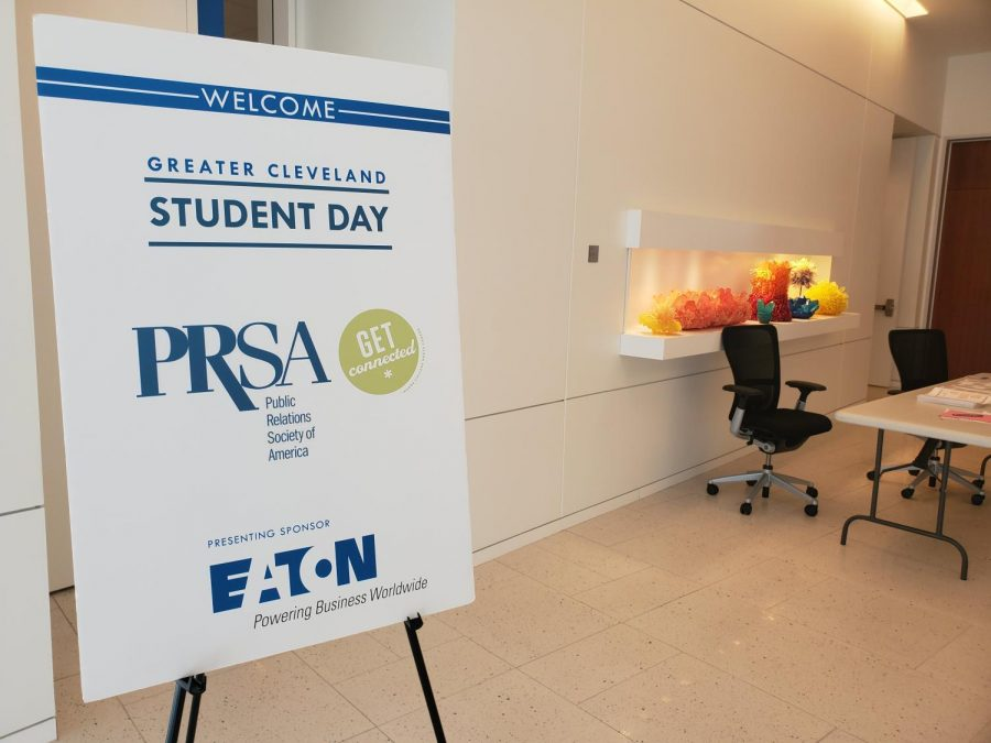 PRSA Student Day 2019 featured panels of Public Relations professionals in order for students to get a better understanding of the profession.