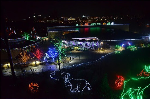 The Akron Zoo's annual lighting event will feature walls of animated lights set to holiday music.