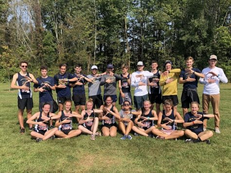 The Akron Running Club attended various NIRCA-sponsored cross country meets during the fall semester.