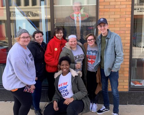 Several members of the College Democrats at the University had the opportunity to visit Iowa during the Iowa Caucus.